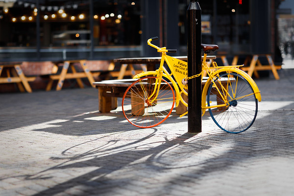 The Yellow Bike
