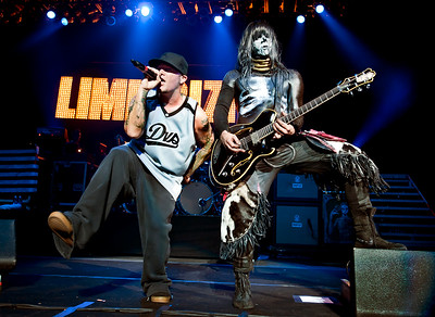 Fred Durst and Wes Borland of Limp Bizkit