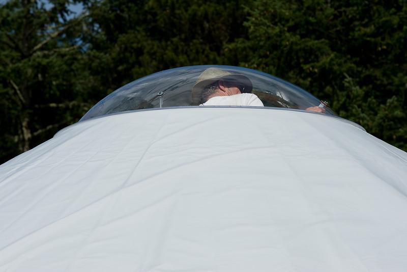 John's spaceship.