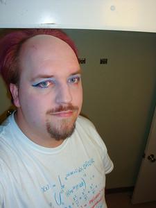 Eyeshadow and eyeliner