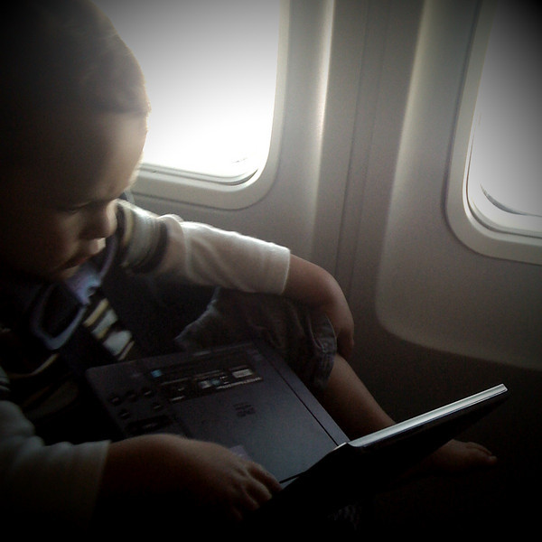 Watching Cars on the plane