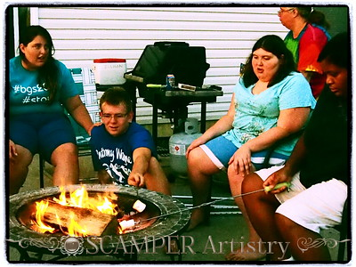 S'mores by the firepit, Aug. 23, 2013