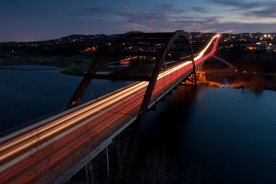 360 Bridge at dusk
