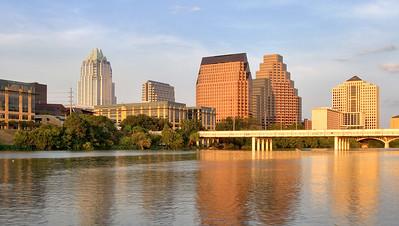 Austin skyline HDR