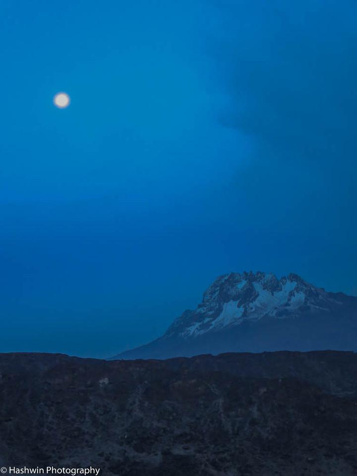 Kilimanjaro hike - Day 6