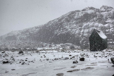 Kilimanjaro hike - day 3