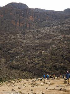 Kilimanjaro hike - day 5