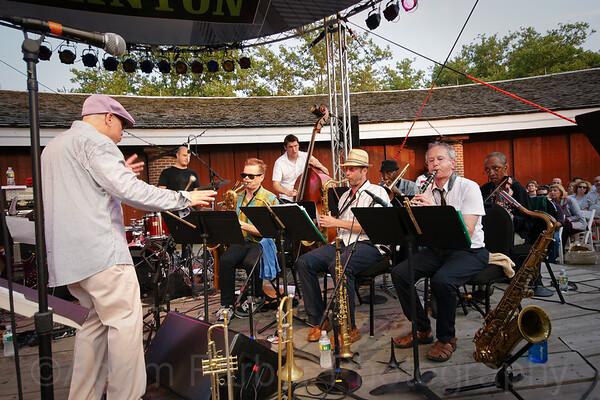 Steven Bernstein's Millennial Territory Orchestra - Castle Clinton, New York, NY (07-16-09) - 045