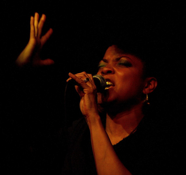 stephanie mackay at the jazz cafe