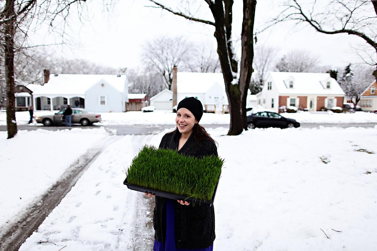 Pregnancy Grass