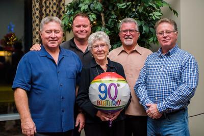 Nanny's 90th
