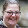 Jenny at Cucumber Falls, Ohiopyle, PA