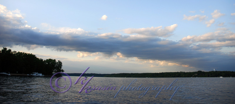 Fishing on the St. Croix River.
