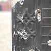 Decorative Tile Facade of recently demolished building.