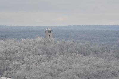 water tower from same location at 390mm
