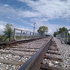 train tracks and blue sky... how much better can it get?