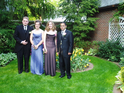 The Whole Group Before Prom