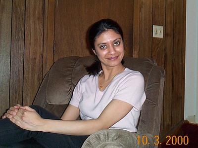 Anu Bahl at home in NJ, USA