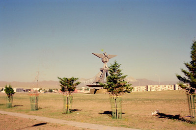 Near the aiport in UB (Ulaan Bator), Mongolia