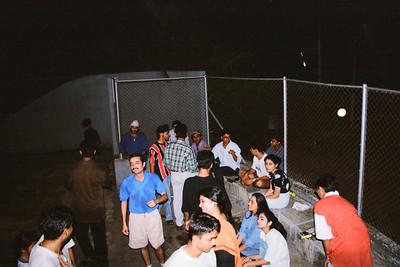 Tennis Match on Eden Tennis Court, Hiranandani Gardens, Powai Lake, Mumbai, India