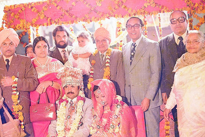 Wedding ceremony of Karan & Gita Seth