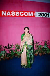 Divya Seth at NASSCOM Live Wire BBS & Net participation in NASSCOM 2001