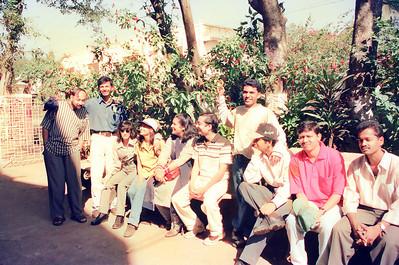 Live Wire / Nanda Netcom office picnic and outing to Lonavala. All staff memebers and Nanda family went to Shahani Holiday Home, D T Shahani Road in Lonavala, Maharashtra.