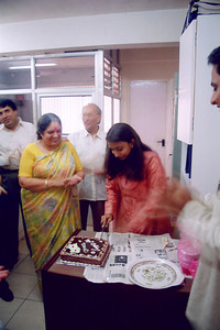 Unnati's B'day celebration at Live Wire! office 401/402, Gateway Plaza, Hiranandani Gardens, Powai Lake, Mumbai