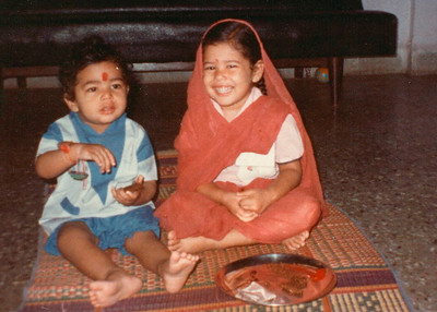 Piyush and Priya Seth at their home in Romy Apartments, Marol, Mumbai
