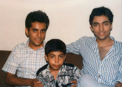 Sachin, Piyush and Suchit at Marol