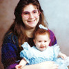 Cindy 17 yrs Marianne 5mo. (To Uncle Ken)