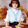 Alesia Lily Cherry 5 years old. Oct 27, 1972.  Jacksonville Kindergarten Arkansas