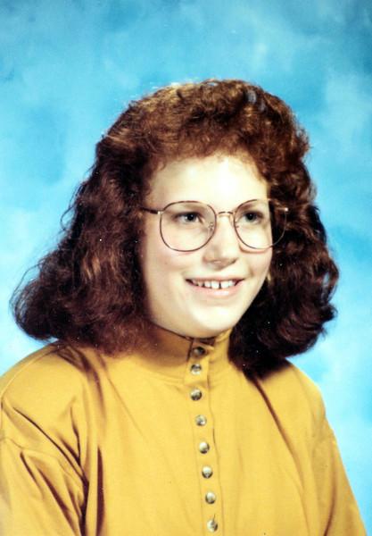 Angela Jean 9th Gr 13 yrs 1990