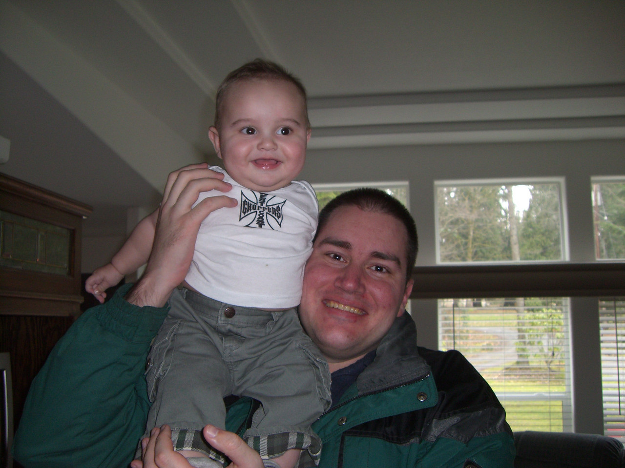 Oliver and Uncle Mike