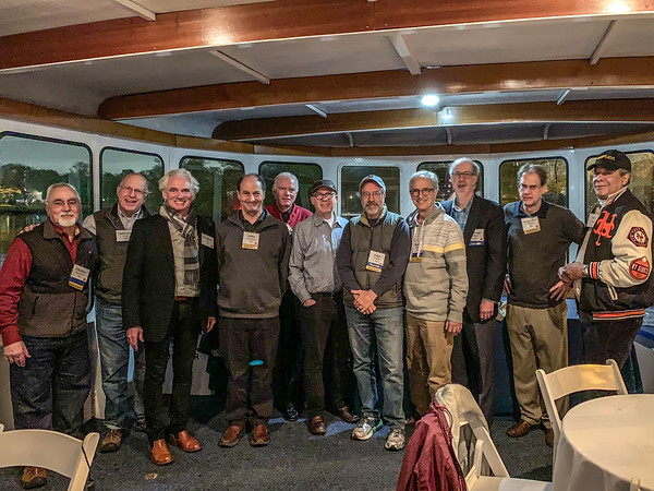 L-R: Chuck Nazarian, Ephraim King, Compy Chase, John Edinburg, Ted Westlake, Jimmy Berns, John Schiller, Burt Roberts, George Bain, Chris Williams and Tony Hill