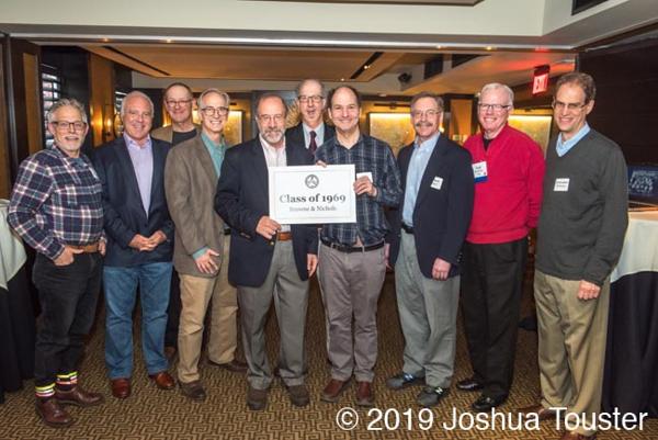 L-R Eric Williams, Jeff Lurie, Peter Blitzer, Burt Roberts, John Schiller, George Bain, John Edinburg, Bob Bojar, Ted Westlake, Chris Williams