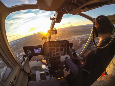 Cockpit Sunrise