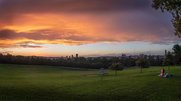 Schenley Overlook Sunset