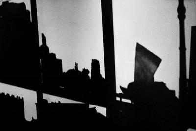 Bookshelf silhouette