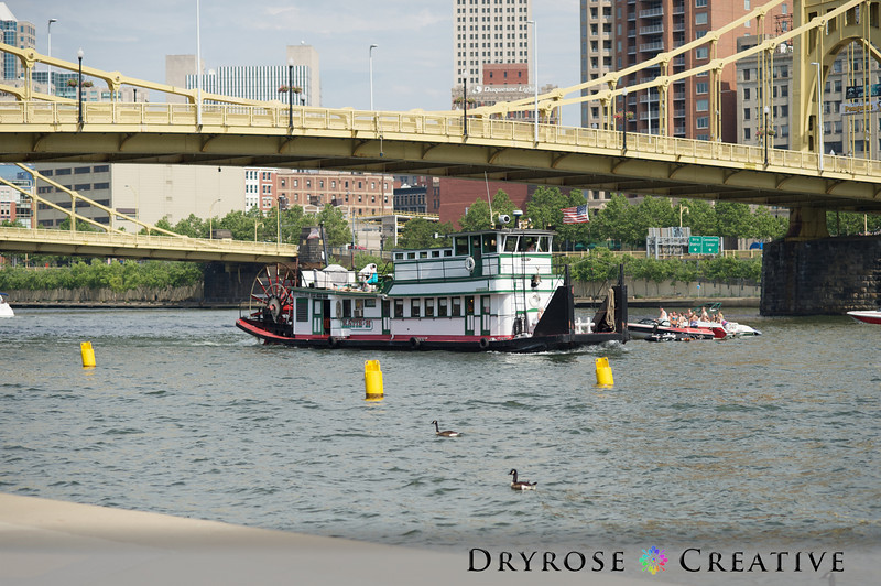 Fun shoot along the Allegheny River