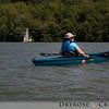 Jenny in her kayak at Lake Arthur, Moraine State Park, PA.