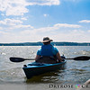 Jenny in her kayak at Lake Arthur, Moraine State Park, PA.