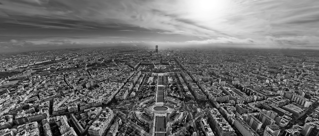 Paris - view from the Eiffel Tower.