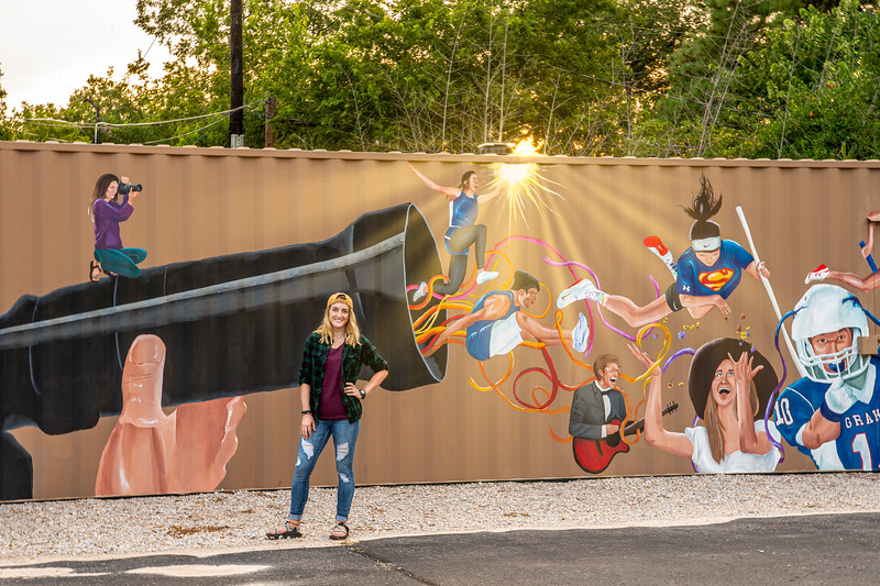 Bailee Green and the Container Mural of Favorites