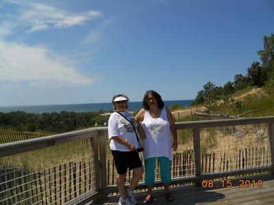 Carol Soriano and Delfina Frisch in Holland, MI