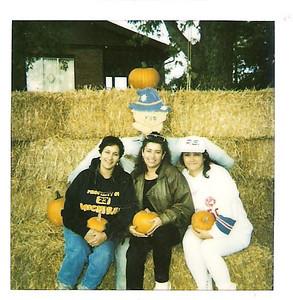 Leta,Becky,Delfina Halloween in Michigan