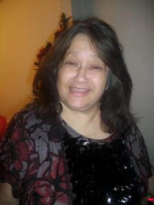 Delfina Frisch, Christmas 2010,wearing Vera Wang....She Wang's !!