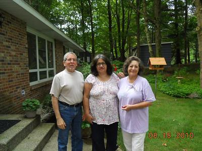 Robert Soriano, Delfina Frisch and Carol S.