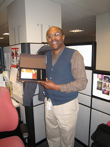 Greg Taylor smiling!!!!  10 years with UPS.