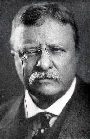 Yup, me and Teddy go way back.  http://en.wikipedia.org/wiki/Theodore_Roosevelt
